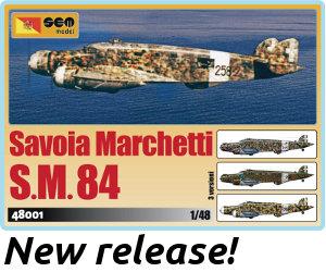 Savoia Marchetti S.M.84 48001 - 168,00 �
