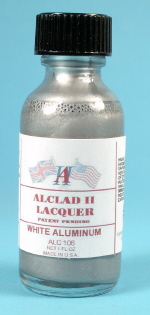ALCLAD METALIZERS - White Aluminum 1 Fl. Oz. - ALC106